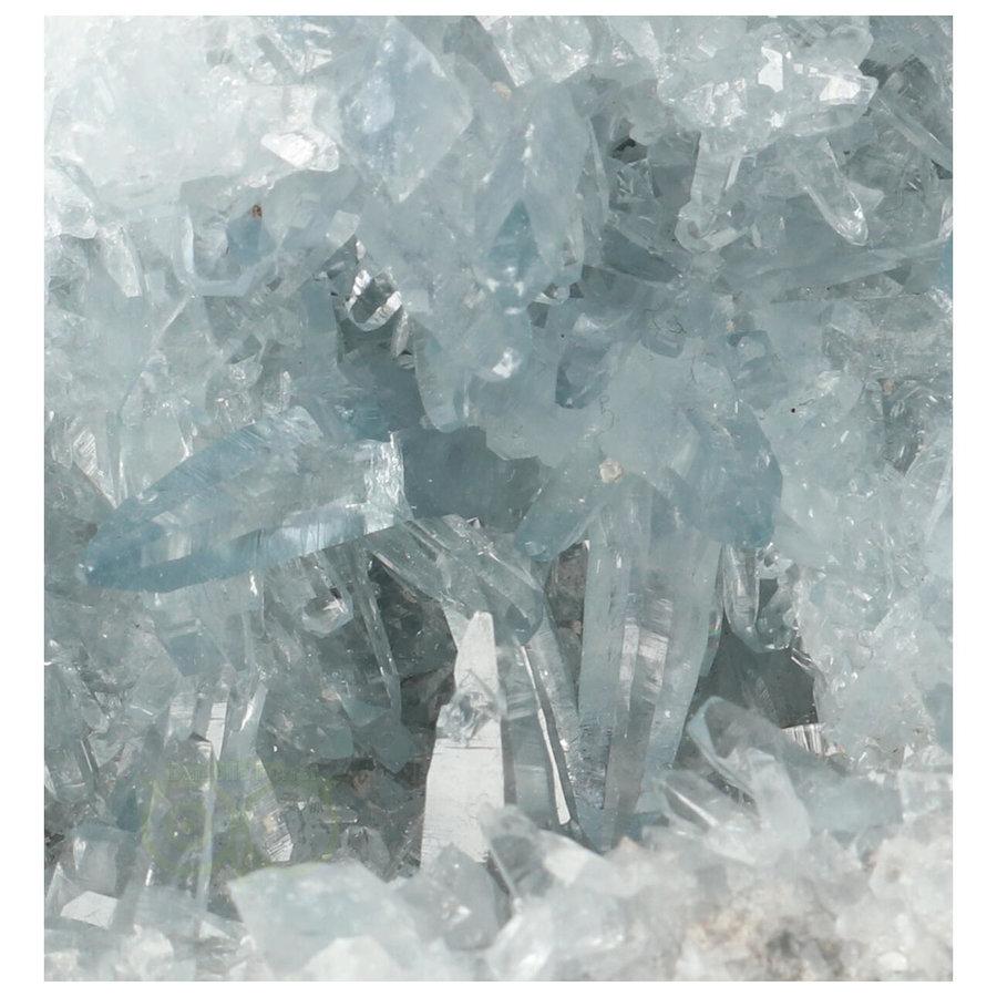 Celestien Cluster Nr 50 - 952 gram - Madagaskar-2