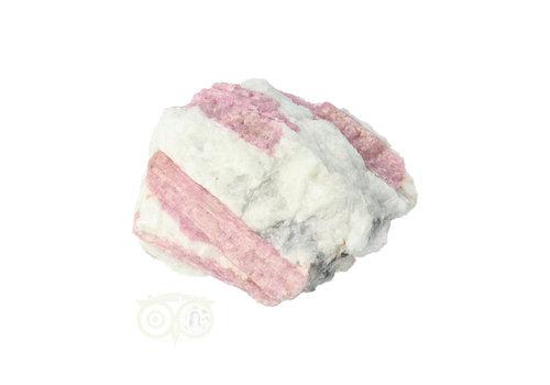 Roze Toermalijn in Albiet 90 gram