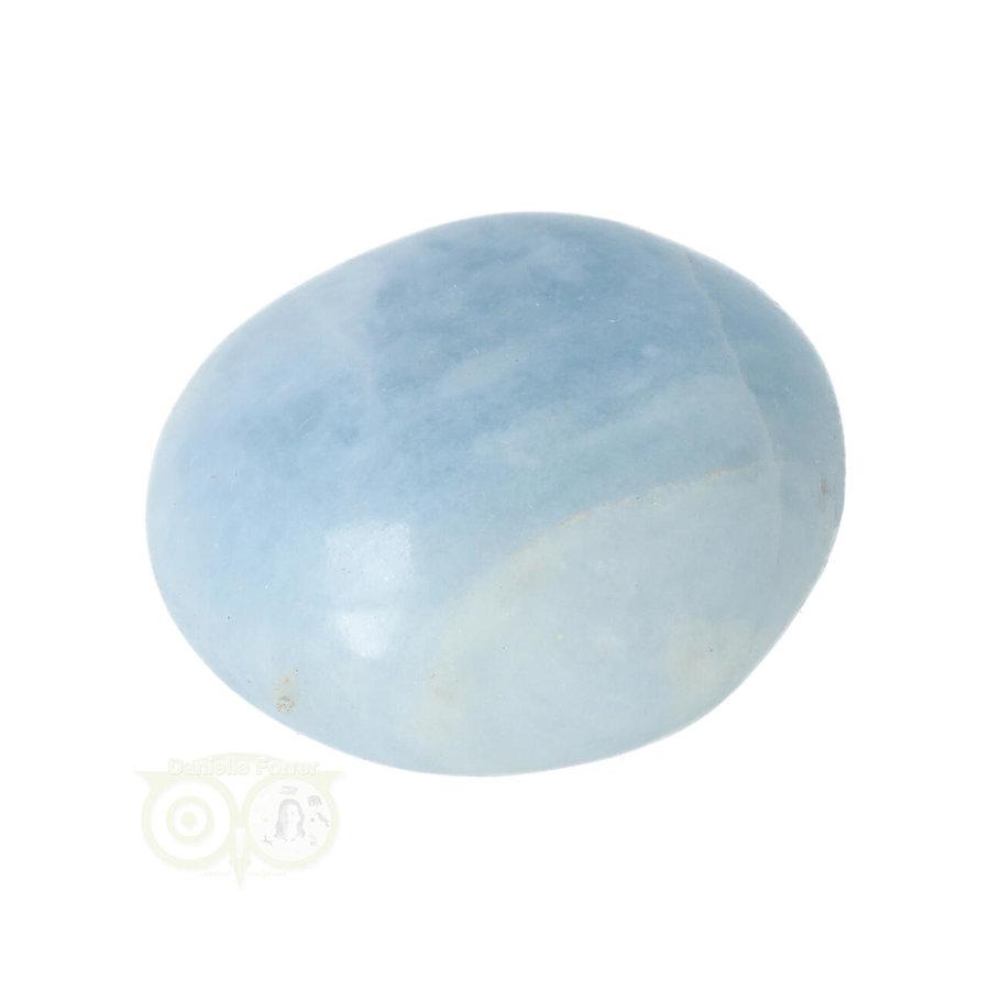Blauwe Calciet handsteen Nr 35 - 70  gram - Madagaskar-3