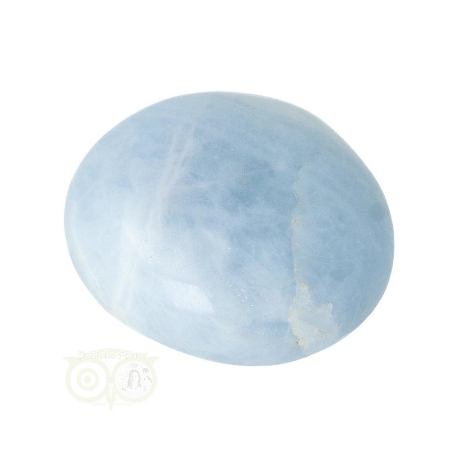 Blauwe Calciet handsteen Nr 35 - 70  gram - Madagaskar-7