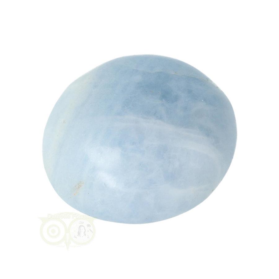 Blauwe Calciet handsteen Nr 35 - 70  gram - Madagaskar-10