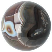 thumb-Agaat bol Nr 8 - 1,1 kg - Ø 9,40 cm - Brazilië-2