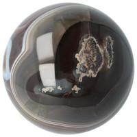 thumb-Agaat bol Nr 8 - 1,1 kg - Ø 9,40 cm - Brazilië-3