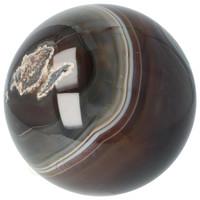 thumb-Agaat bol Nr 8 - 1,1 kg - Ø 9,40 cm - Brazilië-4