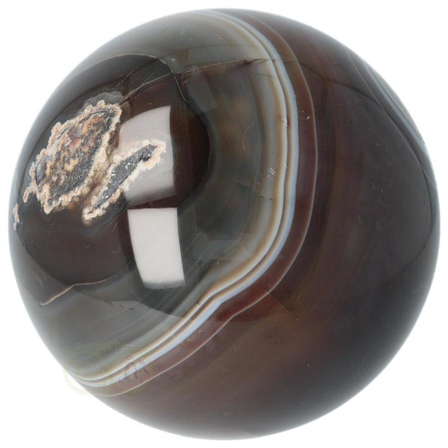 Agaat bol Nr 8 - 1,1 kg - Ø 9,40 cm - Brazilië-4