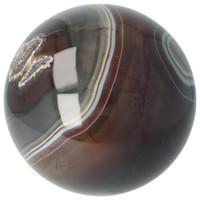 thumb-Agaat bol Nr 8 - 1,1 kg - Ø 9,40 cm - Brazilië-5