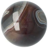 thumb-Agaat bol Nr 8 - 1,1 kg - Ø 9,40 cm - Brazilië-6