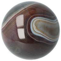 thumb-Agaat bol Nr 8 - 1,1 kg - Ø 9,40 cm - Brazilië-7