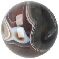 thumb-Agaat bol Nr 8 - 1,1 kg - Ø 9,40 cm - Brazilië-10