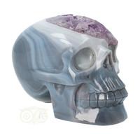 thumb-Agaat Amethist kristallen schedel 877 gram-4