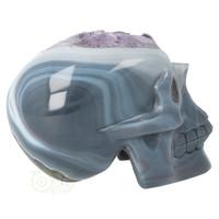 thumb-Agaat Amethist kristallen schedel 877 gram-3