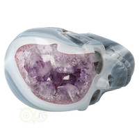 thumb-Agaat Amethist kristallen schedel 877 gram-7
