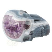 thumb-Agaat Amethist kristallen schedel 877 gram-8