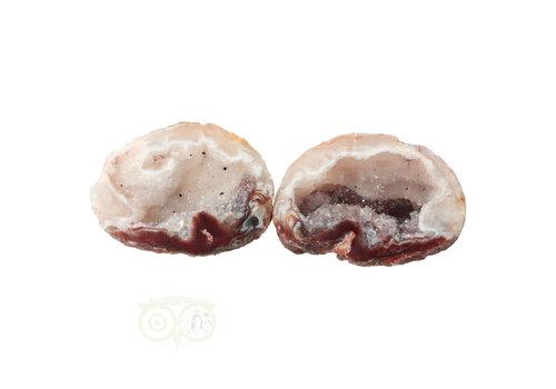 Geode paartje Nr 45 - 52 gram