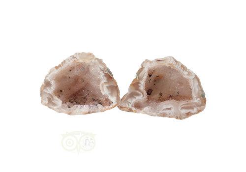 Geode paartje Nr 46 - 65 gram