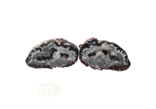 Geode paartje Nr 49 - 93 gram