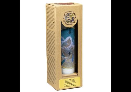 Geurkaars: Engelen Healing Angel Energy - stearine in glas