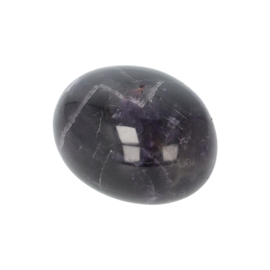 Amethist geronde handsteen Nr 33 - 43 gram-2