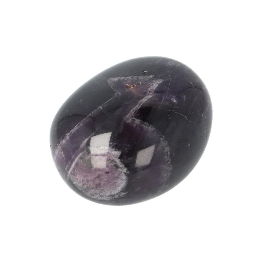 Amethist geronde handsteen Nr 33 - 43 gram-5