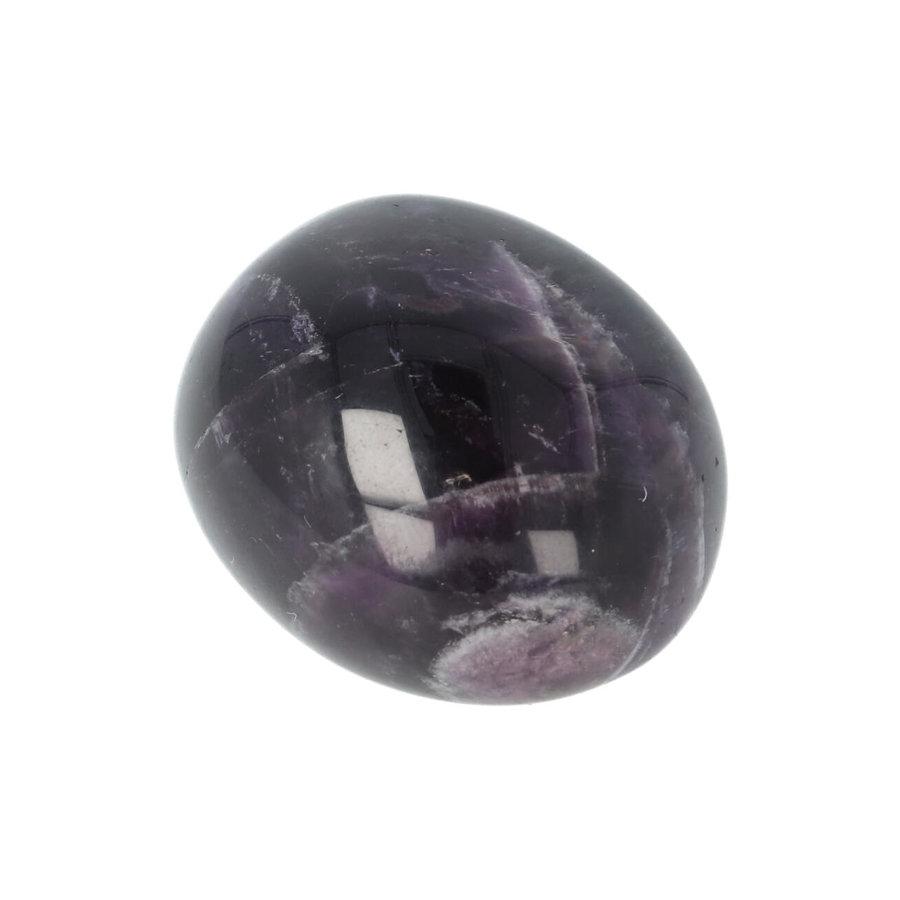 Amethist geronde handsteen Nr 33 - 43 gram-7