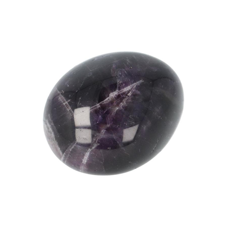Amethist geronde handsteen Nr 33 - 43 gram-8