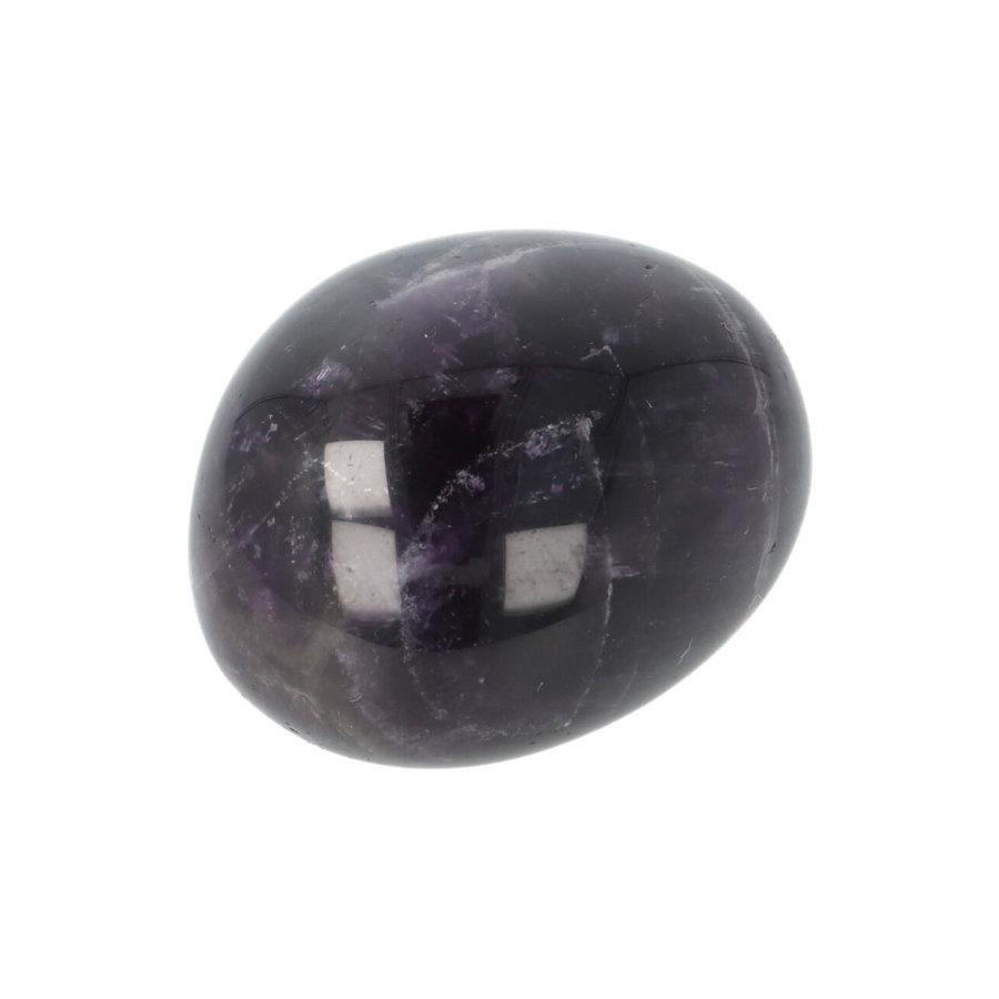 Amethist geronde handsteen Nr 33 - 43 gram-10