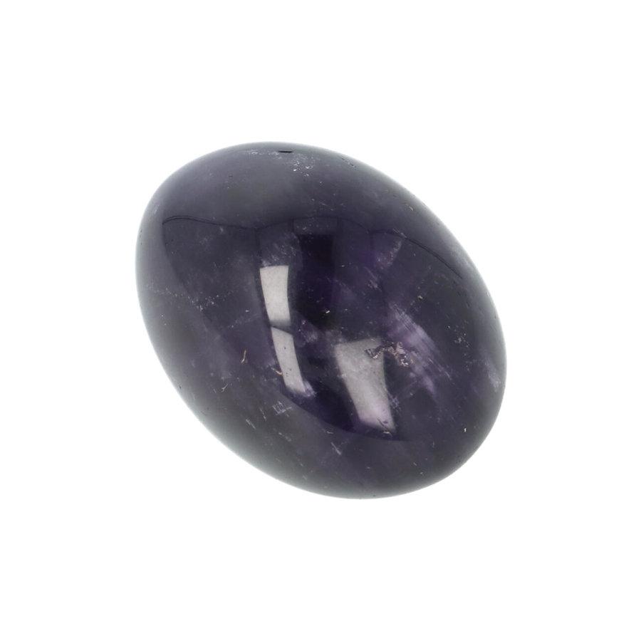 Amethist geronde handsteen Nr 36 - 33 gram-9