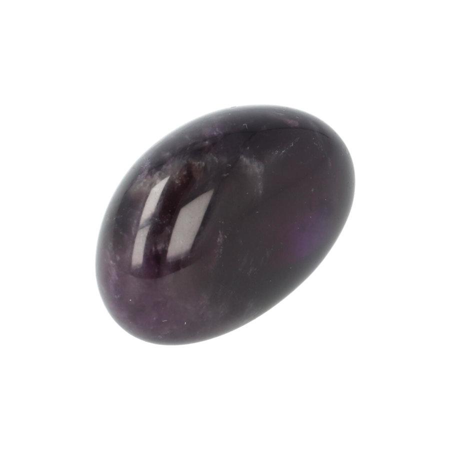 Amethist geronde handsteen Nr 37 - 33 gram-10