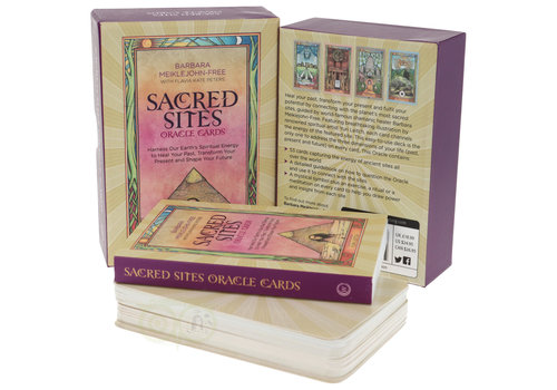 Sacred Sites oracle cards - Barbara Meiklejohn-Free
