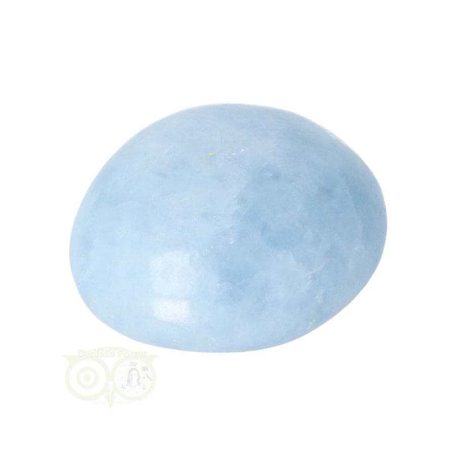 Blauwe Calciet handsteen Nr 37 - 81  gram - Madagaskar-8