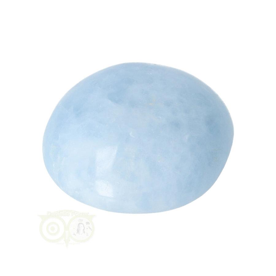 Blauwe Calciet handsteen Nr 37 - 81  gram - Madagaskar-10