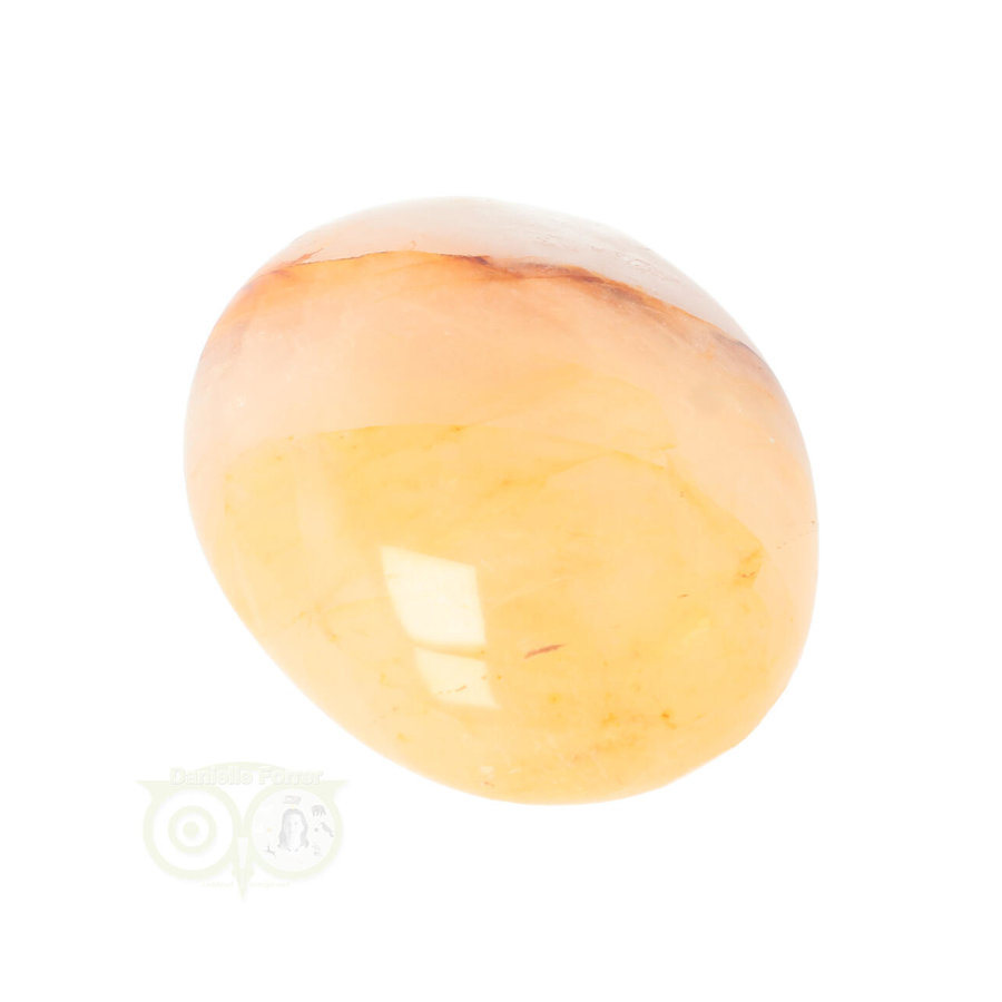 Limoniet kwarts - Golden healer handsteen Nr 21 - 95 gram-4