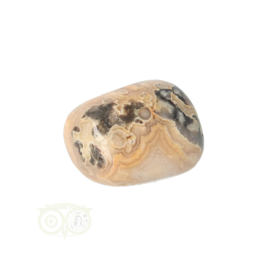 Crazy Lace Agaat trommelsteen Nr 8 -  17 gram-6