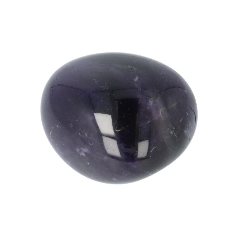 Amethist geronde handsteen Nr 38 - 38 gram-2