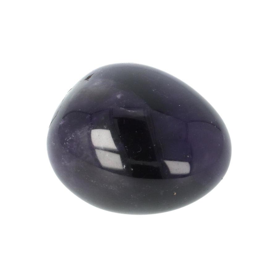 Amethist geronde handsteen Nr 38 - 38 gram-4