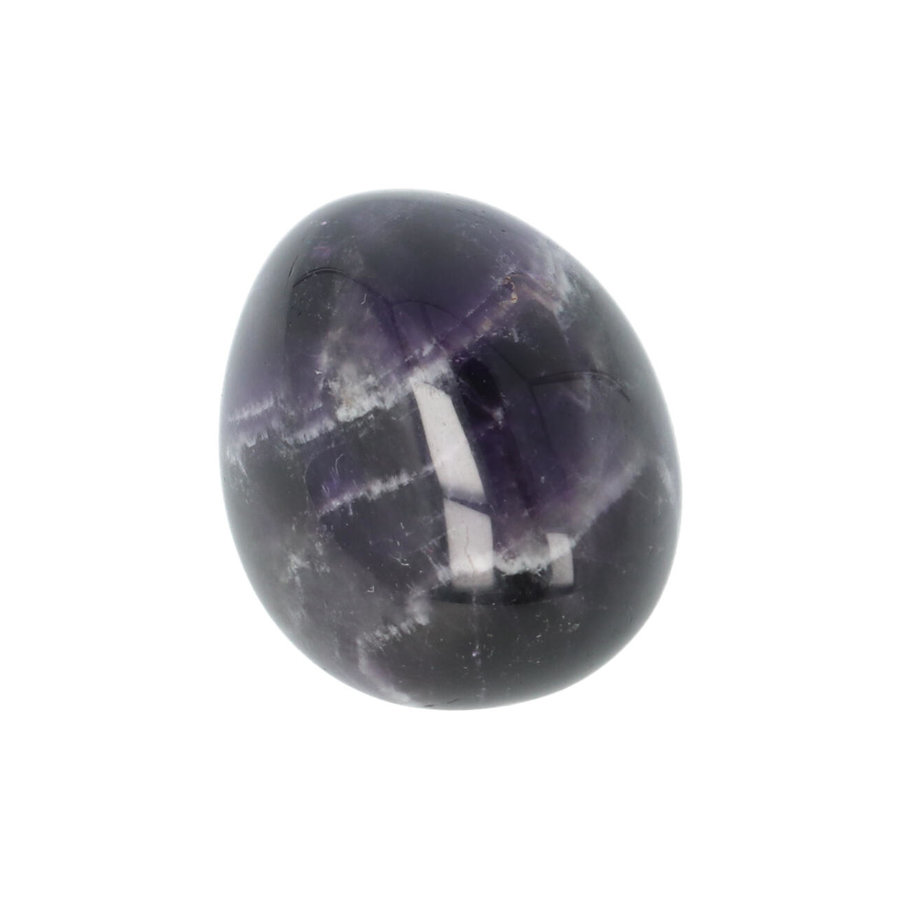 Amethist geronde handsteen Nr 40 - 32 gram-2
