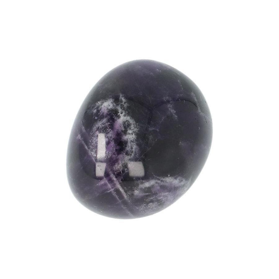 Amethist geronde handsteen Nr 40 - 32 gram-8