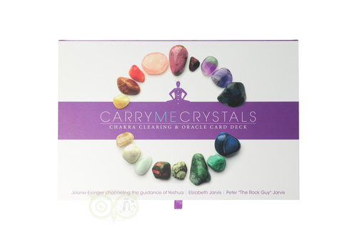 Carry me crystals: Chakra clearing & oracle card deck
