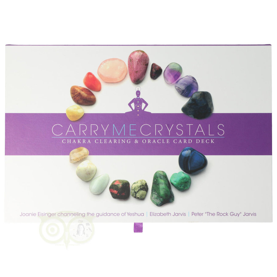 Carry me crystals: Chakra clearing & oracle card deck-1