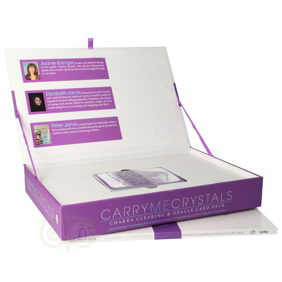 Carry me crystals: Chakra clearing & oracle card deck-3