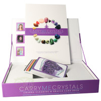 thumb-Carry me crystals: Chakra clearing & oracle card deck-4