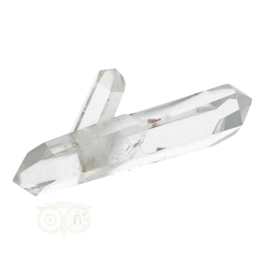 Bergkristal dubbeleinder Nr 25 - 61 gram - Madagascar-2
