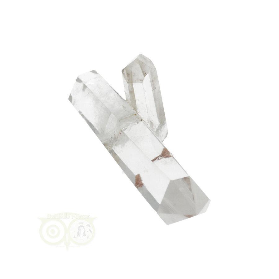 Bergkristal dubbeleinder Nr 25 - 61 gram - Madagascar-3