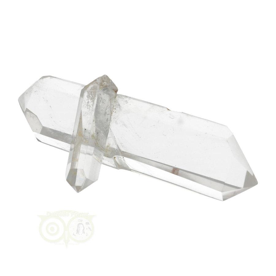 Bergkristal dubbeleinder Nr 25 - 61 gram - Madagascar-5