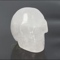 thumb-Bergkristal schedel Nr 4 - 105 gram-1