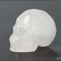 thumb-Bergkristal schedel Nr 4 - 105 gram-4