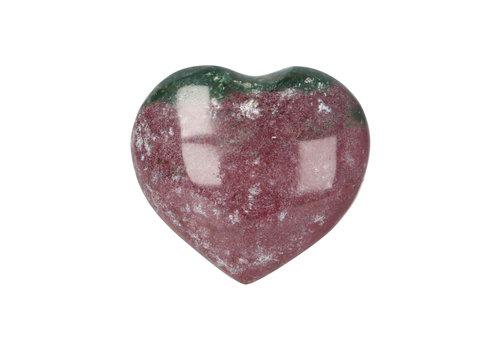 Oceaan Jaspis hart ± 3 cm Nr 21