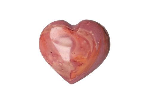 Polychroom Jaspis hart ± 3 cm Nr 18