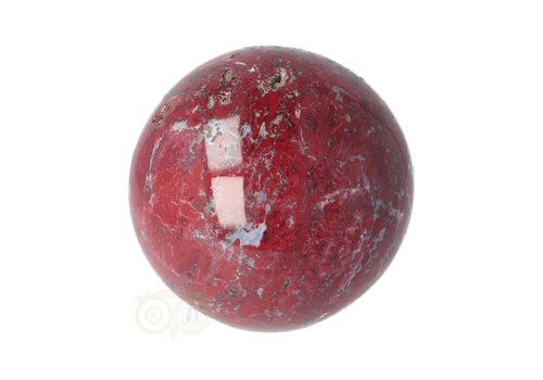 Rode Jaspis bol Nr 14 - Ø 5.71 cm