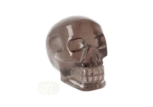 Rookkwarts schedel - Brazilië - 405 gram